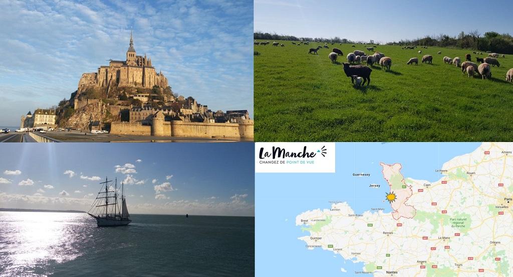 Hauteville Sur Mer en Normandie